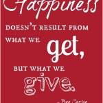 Giving-Happiness
