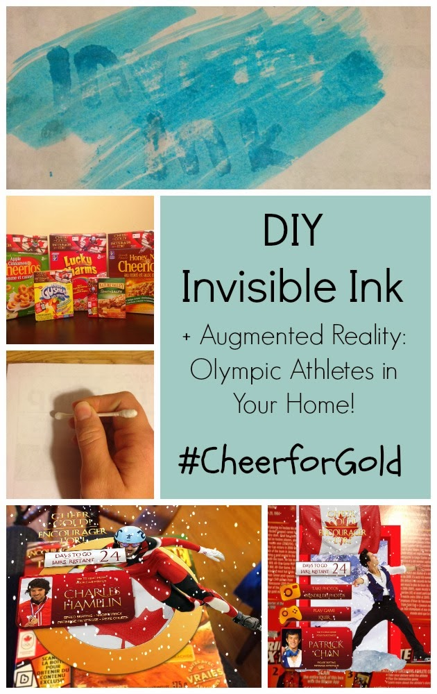 invisible ink meets the 21st century augmented reality cheerforgold with general mills you. Black Bedroom Furniture Sets. Home Design Ideas