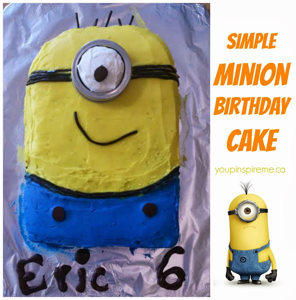 Minion Birthday Cake You Pinspire Me