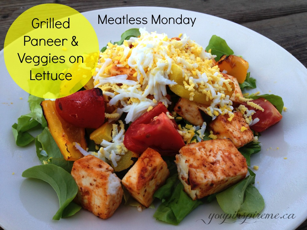 Meatless Monday Recipes: Grilled Paneer with Veggies