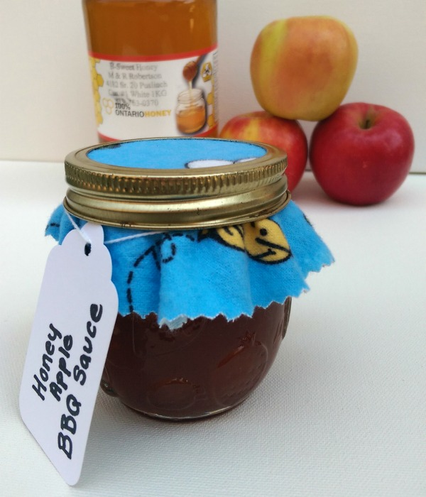 Apple Honey BBQ Sauce