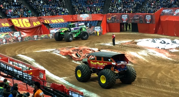 Maple Leaf Monster Jam in Hamilton