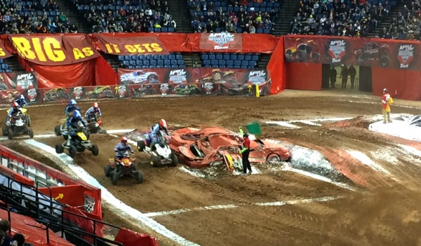 Maple Leaf Monster Jam in Hamilton, Ontario