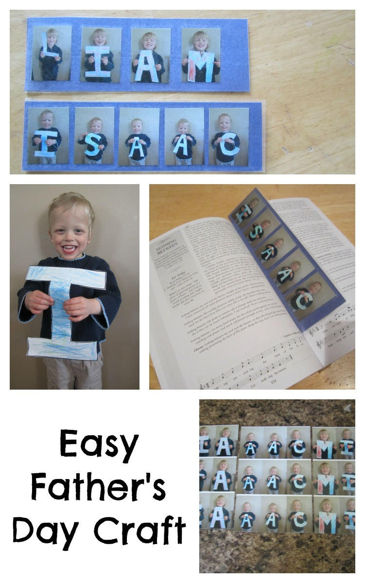 easy fathers u0027 day craft you pinspire me