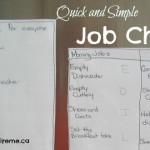 Keep it simple when it comes to job charts!