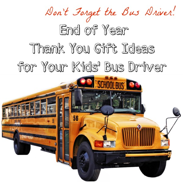 Bus Driver Gift Ideas {From a Former Bus Driver}