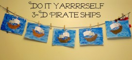 Easy Do It Yarrrself Pirate Crafts #StreamTeam