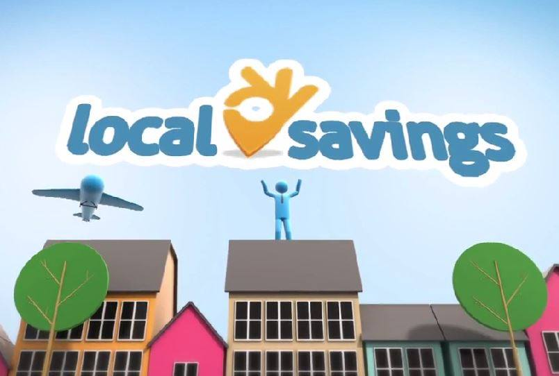 local savings graphic