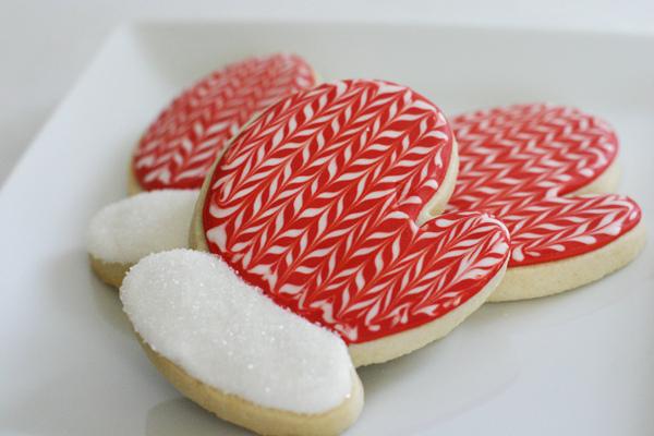 Little Mitten Sugar Cookies