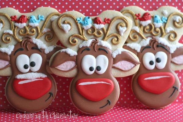 Whimsical Reindeer Cookies
