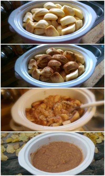 2 Ingredient, 3 Step Easy Crockpot applesauce