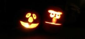 Better Late than Never: Bert & Ernie Pumpkins for Halloween