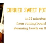 featured curried sweet potato soup
