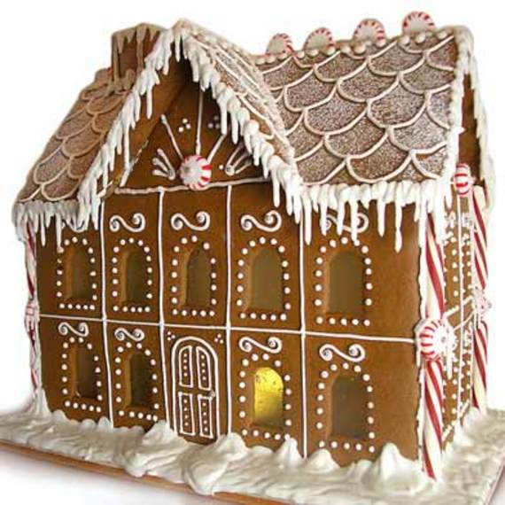 Gingerbread House Mansion