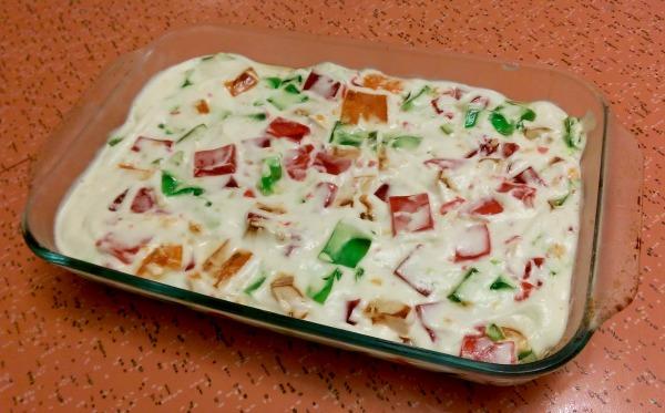 Broken Window Glass Cake: Christmas Dessert Recipes