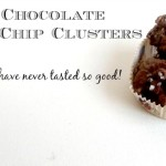 Salted Chocolate Ripple Chip Clusters: No Bake Chocolate Potato Chip Christmas Treats!
