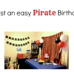 How to Host an Easy Pirate Birthday Party