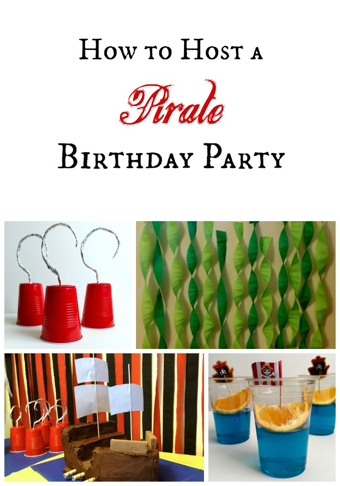 Simple Ideas for a Pirate Birthday Party
