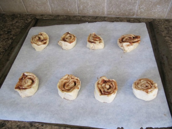 Quick Cinnamon Rolls - only two ingredients!