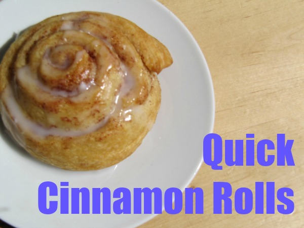 Quick(er) Cinnamon Buns Recipe — Dishmaps