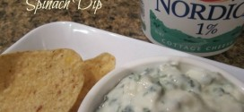 Healthy Spinach Dip #GayLeaMom