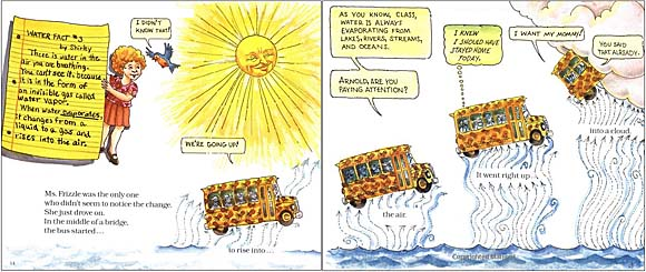 The Magic School Bus at the Waterworks Evaporation Lesson