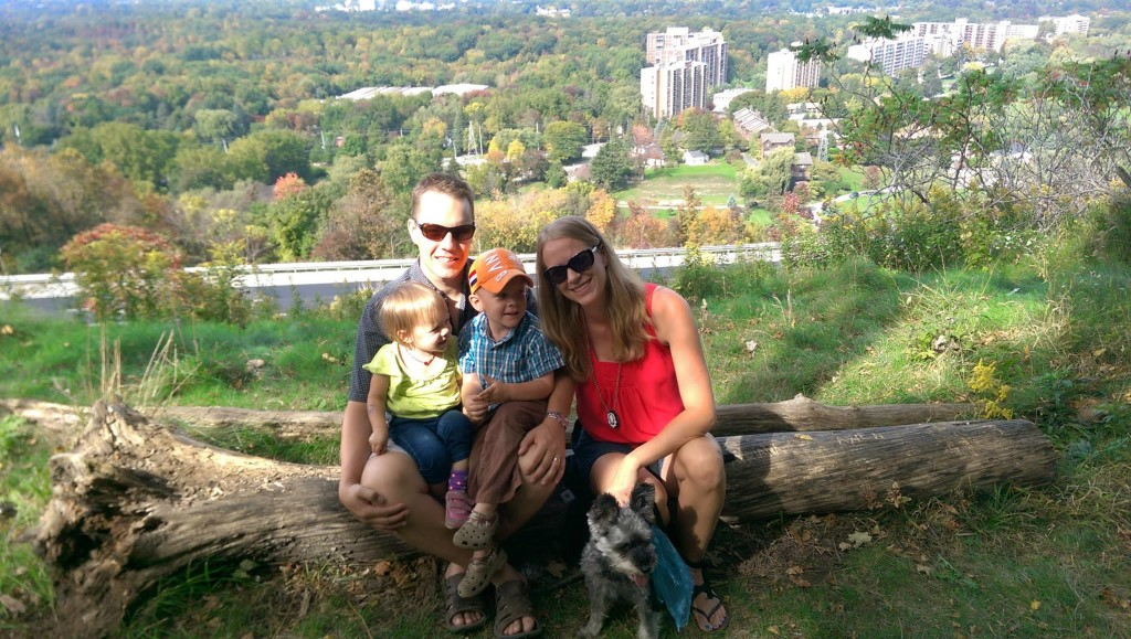 Hiking the Escarpment in Hamilton