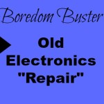 Old electronics repair