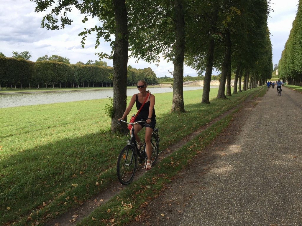 Biking at Versailles