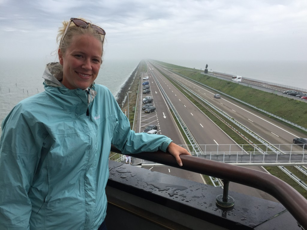 Afsluitdijk in the Netherlands