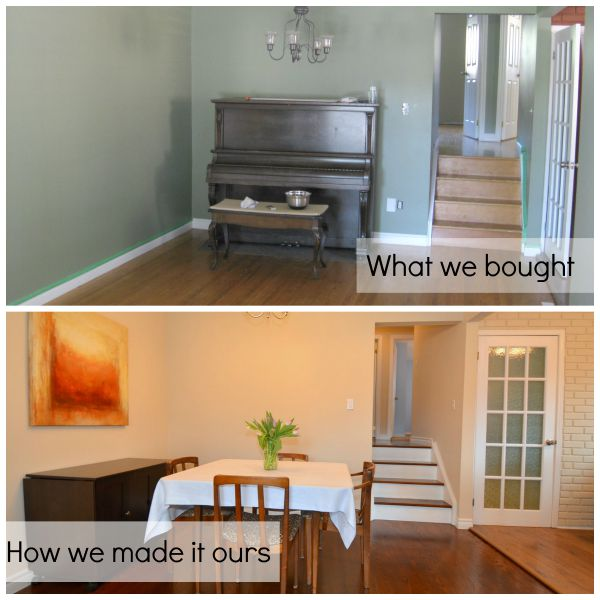 Refinish Old Tired Wood Floors #RBCFirstHome