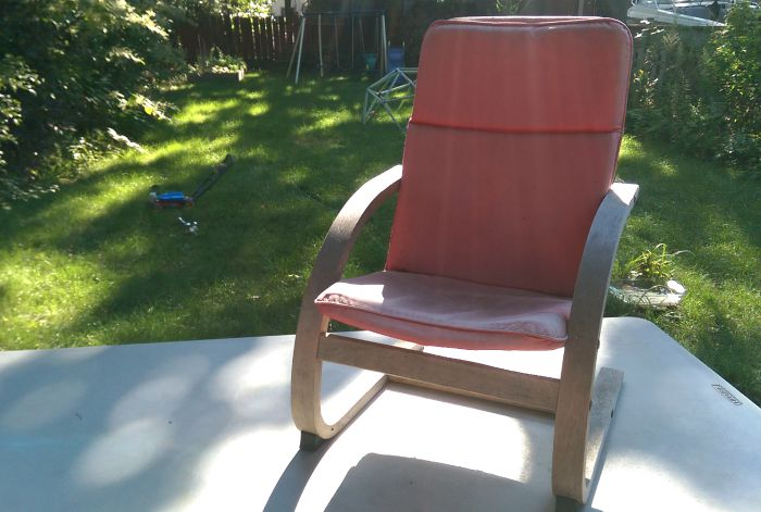 Restoring a Poang Chair