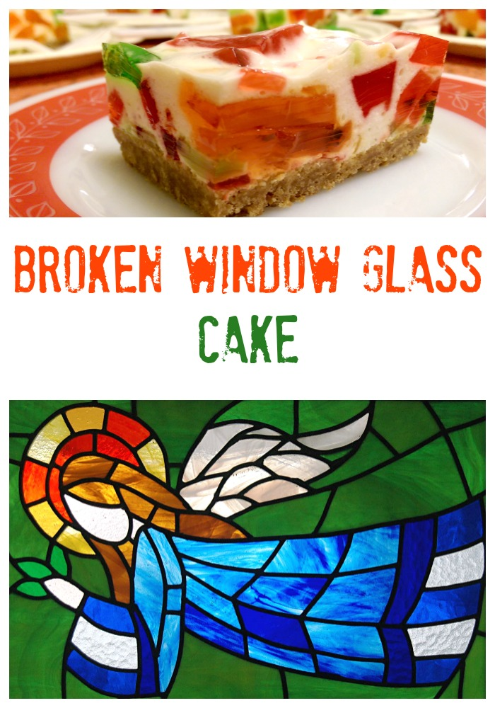 Broken Window Glass Cake - The BEST Christmas Potluck Dessert!