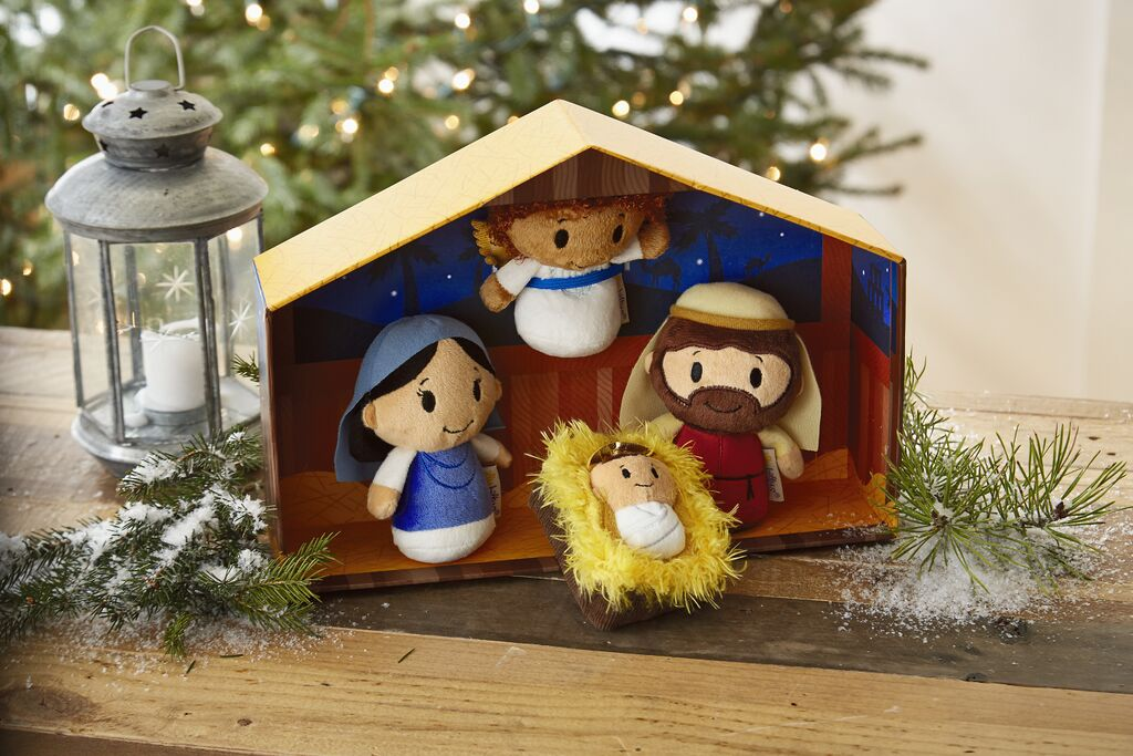 Win this itty bitty Nativity Set from Hallmark!