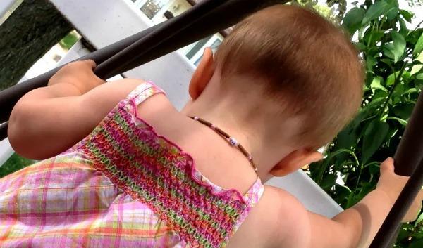 Hazelwood Necklace for Infant Eczema #PureHazelwood