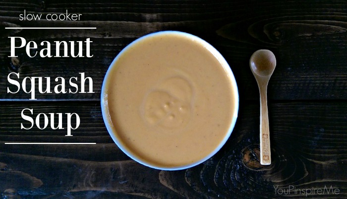 Peanut Squash Soup in the Slowcooker