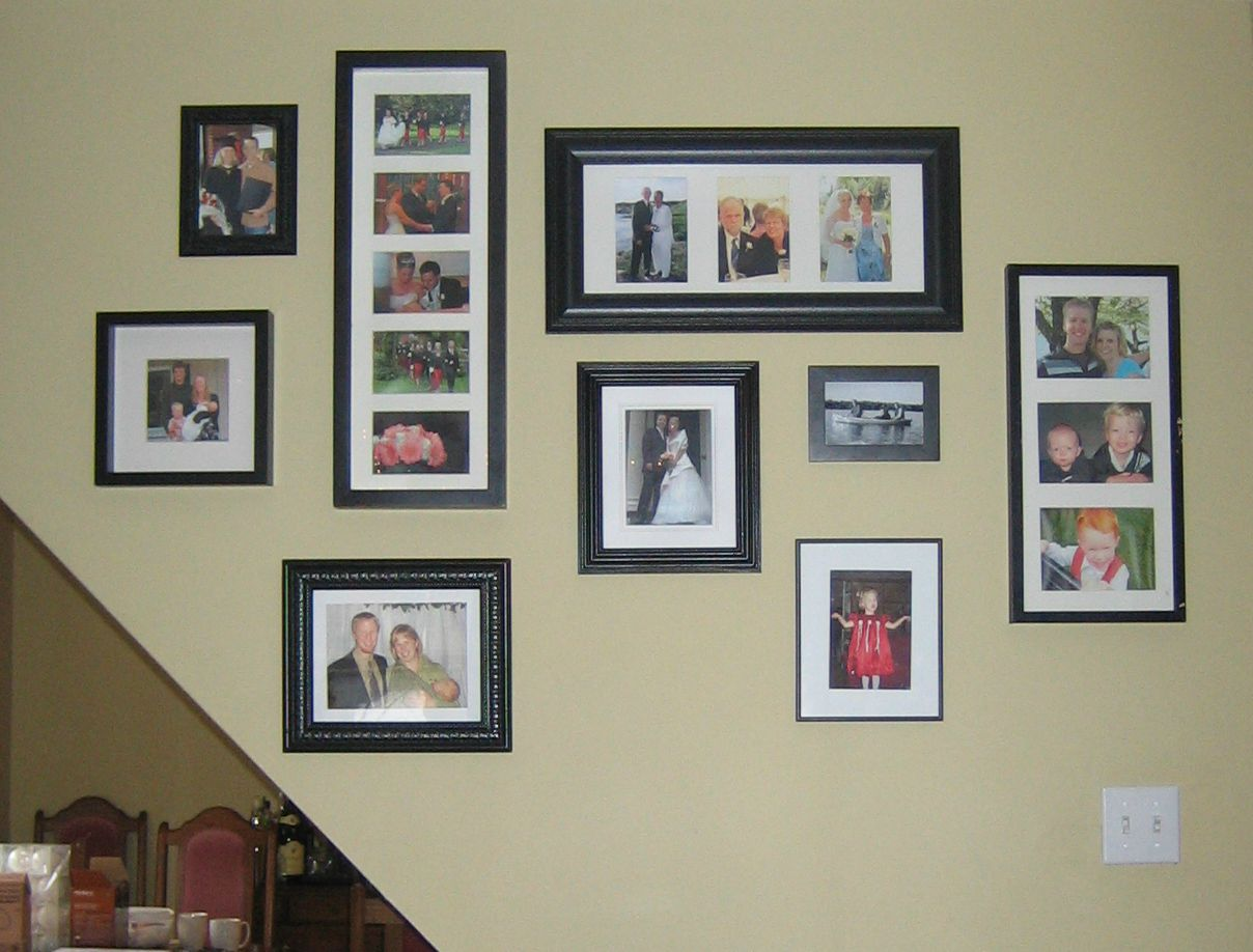 Hanging Framed Photos Without Nails 3m Command Picture