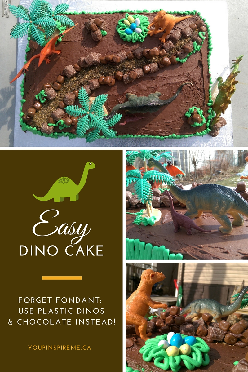Easy Dinosaur Cake Birthday Party Ideas for Kids You Pinspire Me