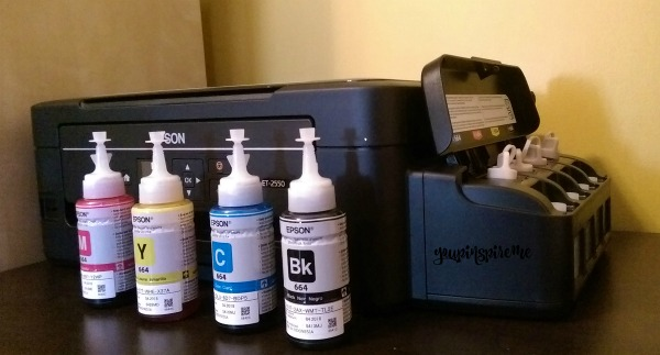 Epson EcoTank 2550: Ink lasts for up to 2 years!