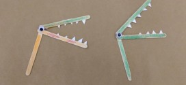 Alligator Popsicle Stick Puppet