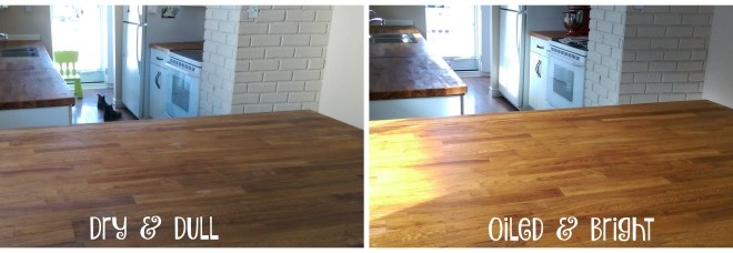 how to oil butcher block counter tops you pinspire me
