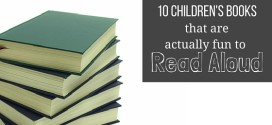10 Children's Picture Books that are a Pleasure to Read Aloud #FavouritesFriday
