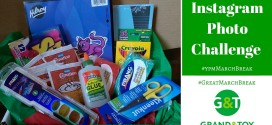 Win a $65 val March Break Crafting Box from Grand & Toy! #GrandMarchBreak