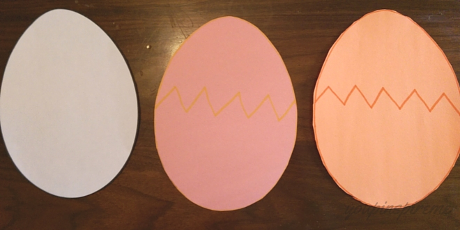 Easy Easter Egg Craft