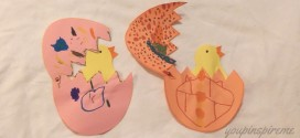 Easy Easter Craft: The Hatching Chick