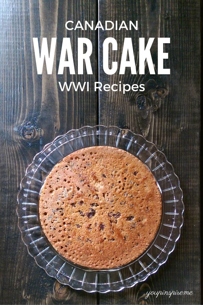 Canadian War Cake - WWI Recipes from 1915 - It's egg-free, dairy-free, and so good!!