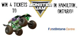 Win 4 Tickets to #MonsterJam in Hamilton!