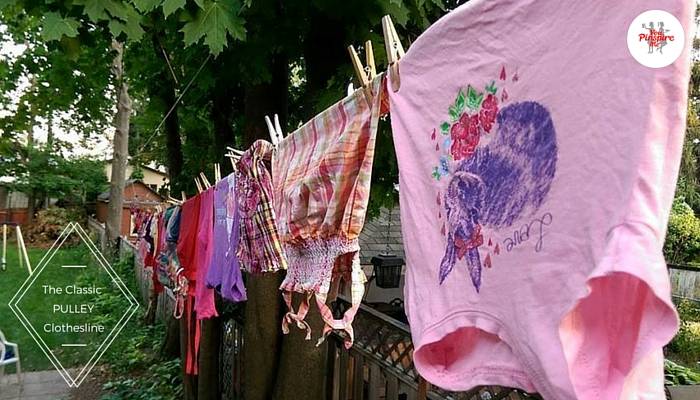 Save Space on Your Clothesline: Laundry Tip