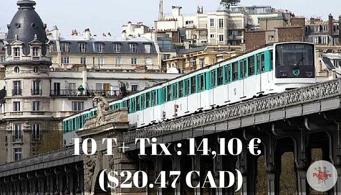 Metro Pass in Paris