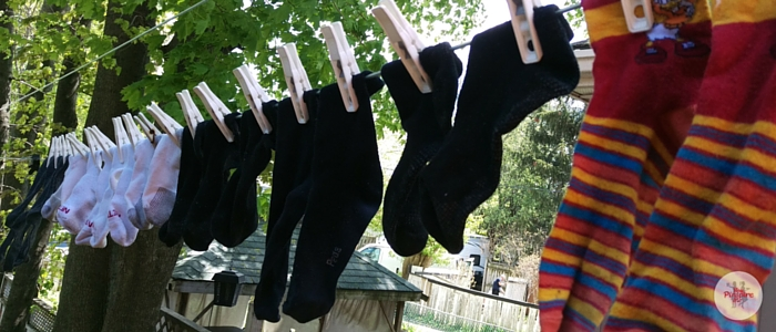 Save Space on the Clothesline